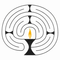 The Chalice Labyrinth For: The Mystery of Consciousness- a UU sermon. Altar, Godly Play, Mindfulness For Kids, Religion And Politics, Religious Education, Spiritual Practices, Kirchen, Coloring Pages, Mystery