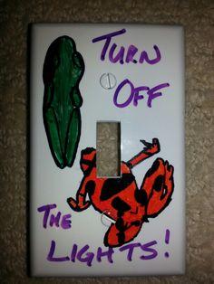 Design a light switch. #TorontoZoo #Art