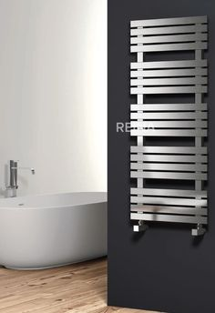 REINA SIENNA STAINLESS STEEL HEATED TOWEL RAILS