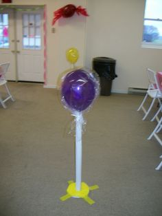 Giant lollipops for candyland party