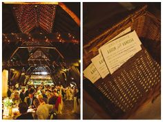 great lighting in a large rustic barn can be magical