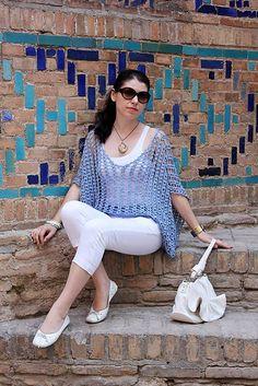 Oriental Tale Tunic By Irina Anokhina - Free Crochet Pattern - (ravelry)