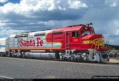 RailPictures.Net Photo: ATSF 90 Atchison, Topeka & Santa Fe (ATSF) EMD FP45 at Williams, Arizona by James Belmont
