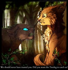 Purdy and Crowpaw by Caicyo.deviantart.com on @deviantART