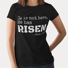 He is not here He has risen christian t shirts makes a perfect Father's day gifts or Mother's day christian gifts for mother, gifts for father, gifts for grandmother, gifts for grandfather and someone you love! Relationship Bible Quotes, God Quotes About Life, Bible Quotes About Faith, Faith Quotes, Guidance Quotes, Prayer For Guidance, God Prayer, Christian Gifts, Christian Women