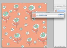 """""""Let's Create a Repeat Pattern in Photoshop""""  ohmyhandmade.om"""