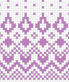 Fair Isle Knitting Patterns, Knitting Charts, Knitting Stitches, Knitting Socks, Crochet Art, Tapestry Crochet, Knit Or Crochet, Filet Crochet, Stitch Patterns