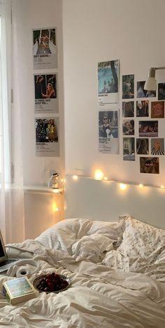 Room Design Bedroom, Room Ideas Bedroom, Bedroom Inspo, Bedroom Decor, Dream Rooms, Dream Bedroom, Room Ideias, Indie Room, Minimalist Room