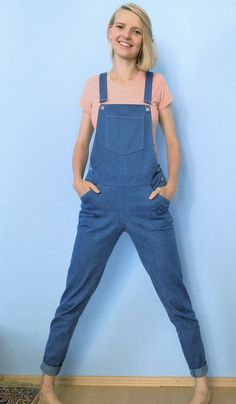 @wieesunsgefaellt 's Mila Dungarees - Sewing pattern by Tilly and the Buttons