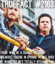 "2,783 curtidas, 71 comentários - If I Posted It... It's true. (@twdtruefacts_) no Instagram: ""Eugene's TeamNegan! #TWD #TheWalkingDead #WalkingDead"""