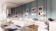 Stunningly Beautiful & Modern Apartments By Koj Design