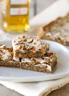 Irish Coffee Blondies