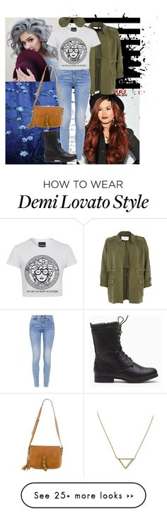 """""""Day with Demi"""" by sarah19200 on Polyvore featuring River Island, G-Star, Gucci, Linda Farrow, Banana Republic, casual and DemiLovato"""