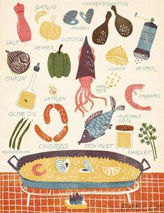 Galeria ~ receitas ilustradas por Barbara Dziadosz