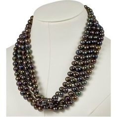 72 Inches 8.0mm-8.5mm Freshwater Black Pearls. Cultured Freshwater Black Pearl Necklace Jewelry Days. $119.00. Pearl, the birthstone of June. Weighs approximately 169 grams. Measures 8.0 mm to 8.5 mm. 72 Inches Freshwater Black Pearls. Save 70%!