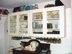 Delicieux Antique Dutch Hanging China Cabinet From A Unique Collection Of