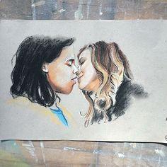 Carlos Valdes Cisco Ramon - Vibe Peyton List  Lisa Snart - Golden Glider Flash Artwork, drawing, fanart, comics DC comics