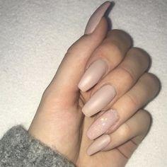 N # ongles # ongles en gel - Nails - Ongles Matte Nail Polish, Gel Nail Art, Nude Nails, Nail Manicure, Acrylic Nails, Matte Gel, Angel Nails, Gel Designs, Nagel Gel