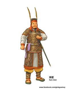 孫堅 江东猛虎,孙策与孙权之父。