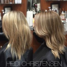 Toned down blonde for the fall