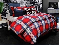 London Themed Bedding | London Themed Bedroom | Doctor Who ...