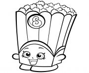 Print Slick Breadstick with Mustache shopkins season 2 coloring pages