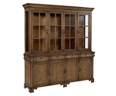 This Traditional Buffet has classic details that have withstood the test of time. Notice its ogee shaped drawers and bracket foot base, plus it offers tons of shelf storage behind framed doors. Use it alone or pair it up with our Traditional Hutch for a place to show off china or collectibles.