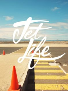 Typography: Jet Life #typography #letters #life