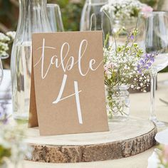 Wedding Table Number Tent Cards//Wedding Reception Decoration/Kraft Wedding Table Number cards 1 to Wedding Table decor/Rustic Country. Wedding Table Number Holders, Wedding Table Names, Wedding Cards, Table Numbers For Wedding, Boho Party Decorations, Wedding Reception Decorations, Handmade Wedding Decorations, Reception Table, Decor Wedding