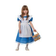 Comprar disfraz de Alicia país maravillas Infantil, para niñas de 4 a 12 años.