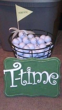 golf themed bridal s