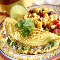 Cheesy Avocado Omelets  ParadiseGroveAvocados.com