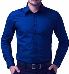 Cheap shirt elegant, Buy Quality dress shirts for small men directly from China shirt printer Suppliers: Fashion Shirt Men Slim Fit Soild Color Chemise Homme Formal Business Cotton Casual Men's Shirts Camisa High Quality Dress Shirt Navy Blue Dress Shirt, Dark Blue Shirt, Navy Blue Shirts, Slim Fit Dress Shirts, Fitted Dress Shirts, Long Sleeve Shirt Dress, Long Sleeve Shirts, Formal Shirts For Men, Men Formal