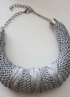 Silver Necklace by Cheval