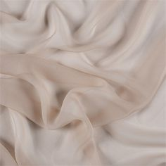 Solid Camel Wide Silk Chiffon FabricElegant and Sheer with a slightly rough feel to it. Silk Chiffon Fabric, Muslin Fabric, Silk Charmeuse, Cream Aesthetic, Elements Of Design, Nude Color, Fashion Fabric, Textures Patterns, Fabric Textures