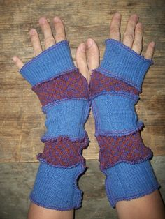 recycle sweater into arm warmers and legwarmers