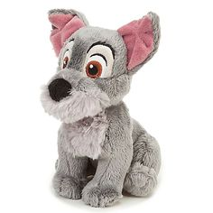 Lady and the Tramp Scamp Plush