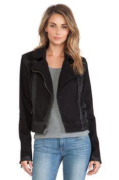 Paige Denim Sydney Denim Jacket in Night Flight