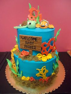 baby baby showers baby ideas cake ideas shower ideas forward nemo baby