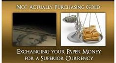 Your 'money' is only exchanged for something with a real store of value.