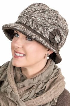 Nanette Cloche Hat fall and winter hat for chemo  chemohat  cancerhat   HatsForWomenCloche Spring 2418d4e81b97