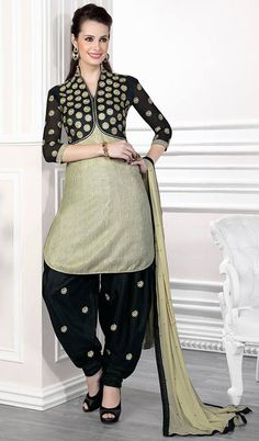 Patiala shalwar suits are again in fashion now. You can find Latest Punjabi Patiala Suit Designs in colourful combinations. Especially our summer collec..