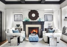 Living room with fireplace living room fireplace design home decor renovation ideas small living room designs . Living Room Interior, Living Room Furniture, Living Room Decor, House Furniture, Living Rooms, Barn Living, Interior Livingroom, Furniture Layout, Cozy Living