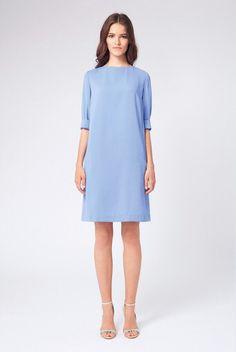 Blue dress again