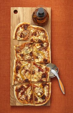 PRIMA PIZZA SALSICCIA A meaty, spicy pizza. Tomato and mozzarella base topped with fiery Calabrian n'duja sausage meat, chargrilled peppers, pancetta, caramelised onions and Fontal cheese. We'll add chillies if you like it hotter.