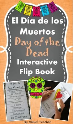 Have students create a Day of the Dead vocabulary flip book. Great tool to introduce or review vocabulary related to the holiday. Includes a defined vocabulary list.