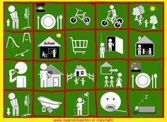 Familie-planner 1 week - gratisbeloningskaart.nl