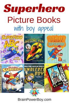 Need some non-commercial superhero picture books? We picked out the best books for boys for this awesome list! Your superhero is sure to like them.