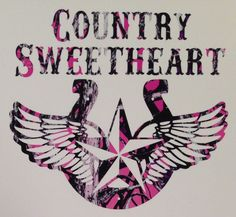 """Muddy Girl Pink Camo Country Sweetheart Truck Vinyl Decal Cowgirl Rodeo Hunt 5"""""""