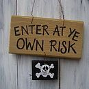 This is great for their doors or ours for Gasparilla